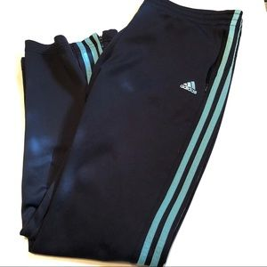 Adidas Three Striped Track Pants